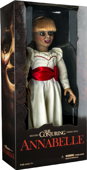 "Mezco Toys The Conjuring Annabelle Prop Replica 18"" Doll"